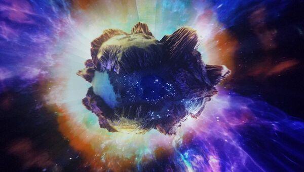 Un asteroide (imagen ilustrativa) - Sputnik Mundo