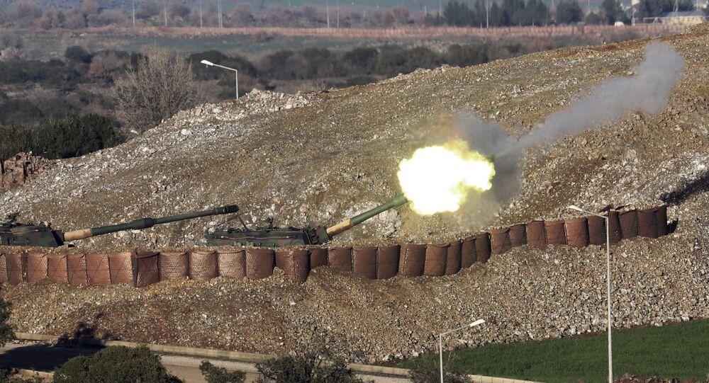 Situación en la región siria de Afrín, frontera entre Turquía y Siria (archivo)