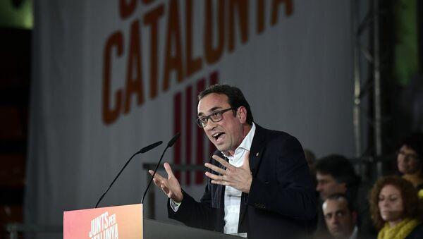 Josep Rull, diputado de Junts per Catalunya (JxCat) - Sputnik Mundo