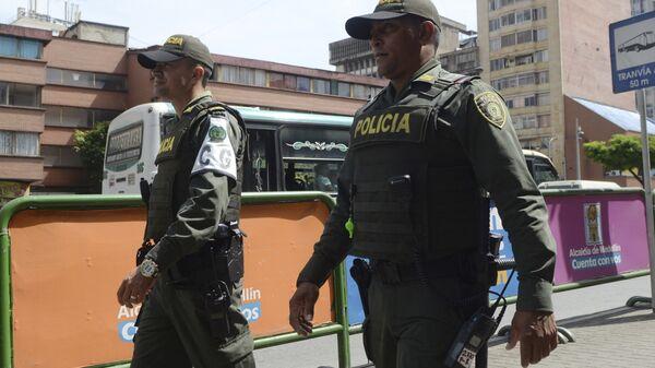 Policía colombiana (colombiana) - Sputnik Mundo