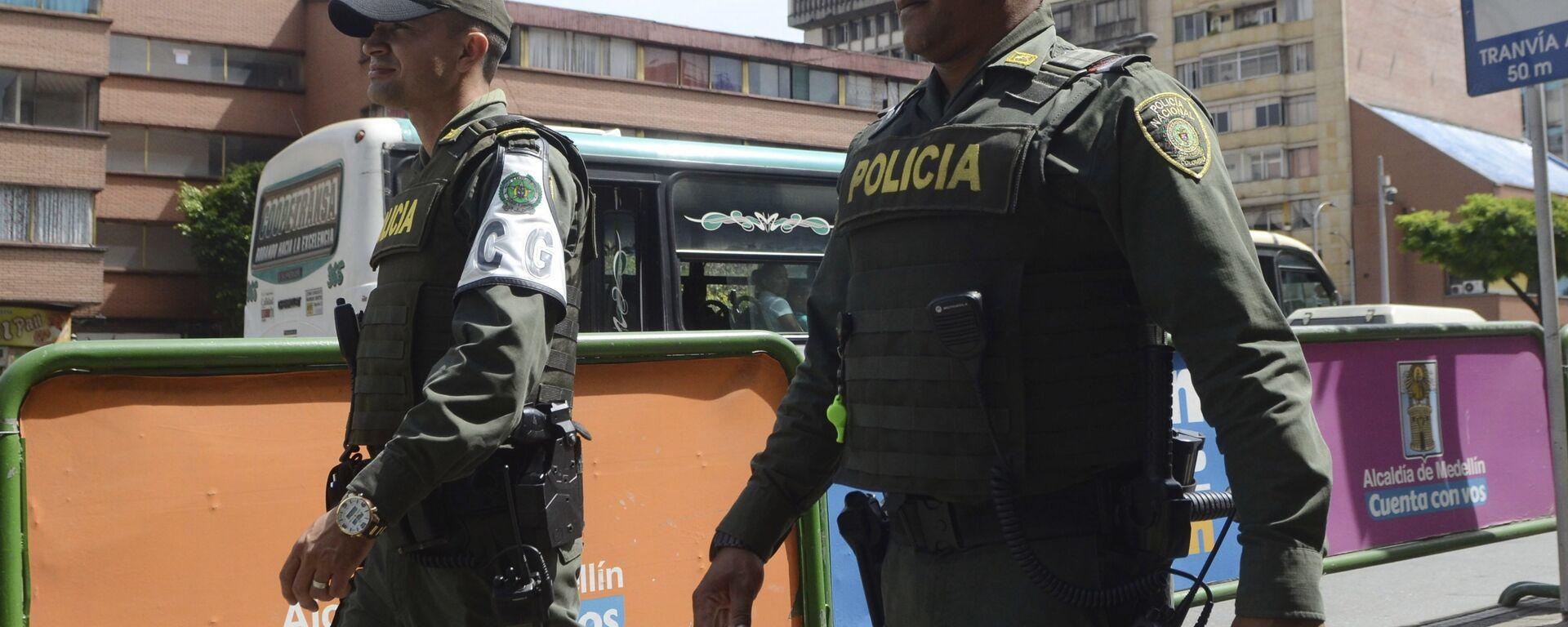 Policía colombiana (Archivo) - Sputnik Mundo, 1920, 10.08.2021
