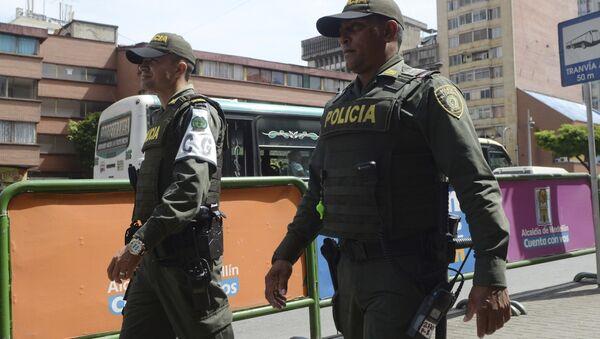 Policía colombiana (Archivo) - Sputnik Mundo