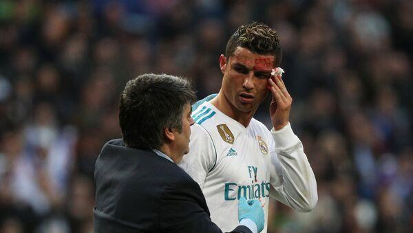 Cristiano Ronaldo, jugador de fútbol portugués - Sputnik Mundo