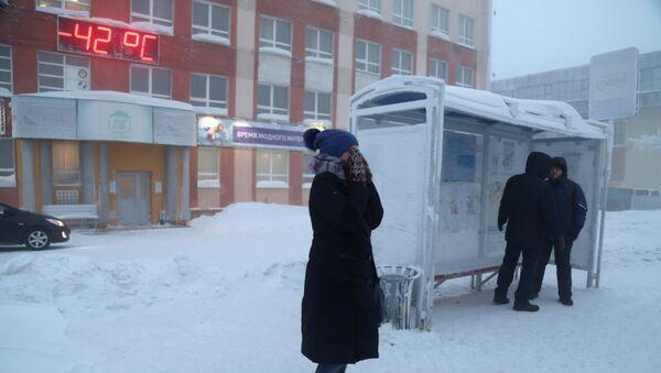 Frío anómalo en Rusia (imagen referencial) - Sputnik Mundo