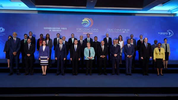 Cumbre CELAC-China en Santiago, Chile - Sputnik Mundo