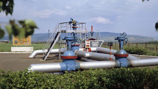 El punto de origen del oleoducto ruso Druzhba en Tartaristán - Sputnik Mundo