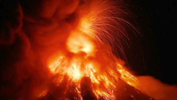 El volcán Mayon - Sputnik Mundo