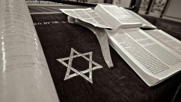 Un libro judío y la Estrella de David - Sputnik Mundo