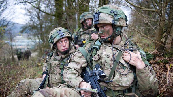 Militares británicos, foto de archivo - Sputnik Mundo