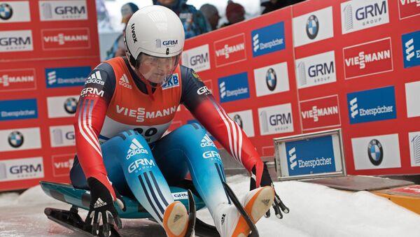 Victoria Démchenko, la competidora rusa en modalidad de trineo - Sputnik Mundo
