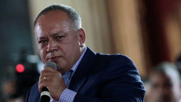 Diosdado Cabello, titular de la Asamblea Nacional (Parlamento) de Venezuela - Sputnik Mundo