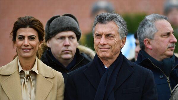 La visita del presidente argentino Mauricio Macri a Rusia - Sputnik Mundo