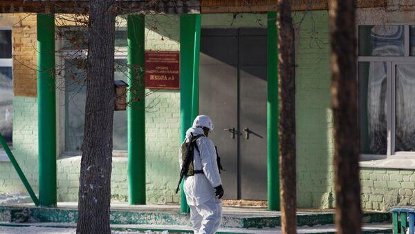 Escuela en Ulán-Udé, Rusia, dónde se produjo el ataque - Sputnik Mundo