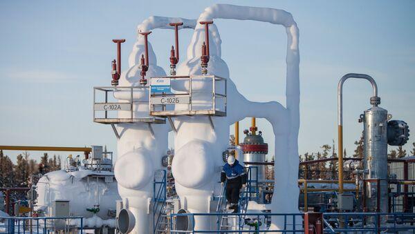 Un pozo de gas de la compañía Gazprom - Sputnik Mundo