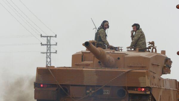 Operación turca en Afrín, Siria - Sputnik Mundo
