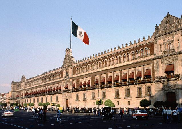 El Palacio Nacional de México (archivo)