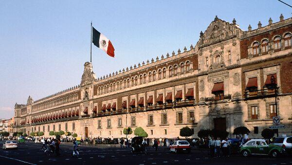 El Palacio Nacional de México (archivo) - Sputnik Mundo