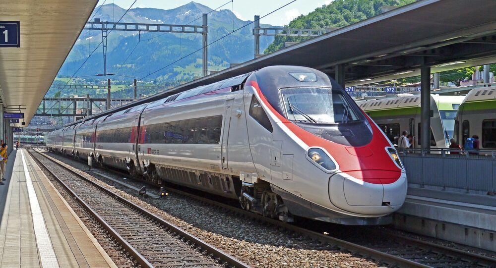 Un tren en Italia (imagen referencial)