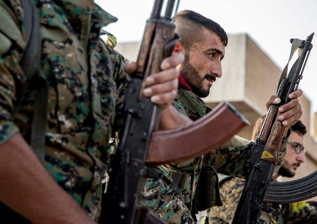 Los combatientes kurdos (imagen referencial)