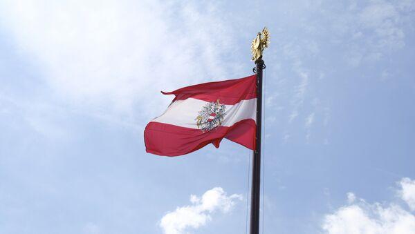 Bandera de Austria (archivo) - Sputnik Mundo
