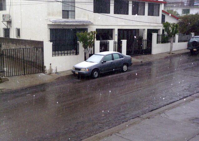 La nieve en México (archivo)