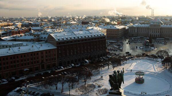 Vista a la ciudad de San Petersburgo - Sputnik Mundo
