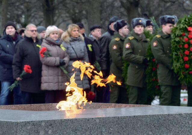 El evento conmemorativo dedicado a la ruptura del bloqueo a Leningrado