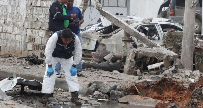 Las autoridades ecuatorianas sospechan que el ataque es obra de bandas de narcotraficantes