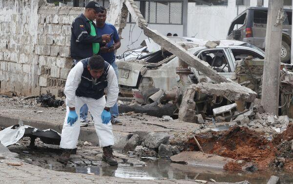 Las autoridades ecuatorianas sospechan que el ataque es obra de bandas de narcotraficantes - Sputnik Mundo