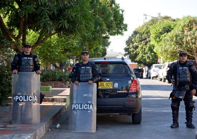 Policía de Barranquilla, Colombia