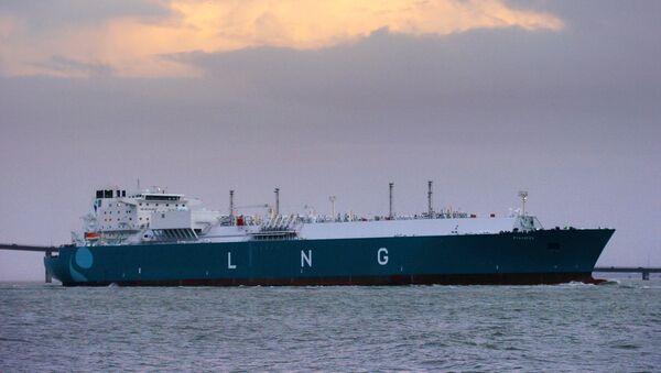 El buque cisterna de gas natural licuado Provalys de Francia (archivo) - Sputnik Mundo