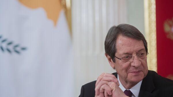 Presidente de la República de Chipre, Nikos Anastasiadis - Sputnik Mundo