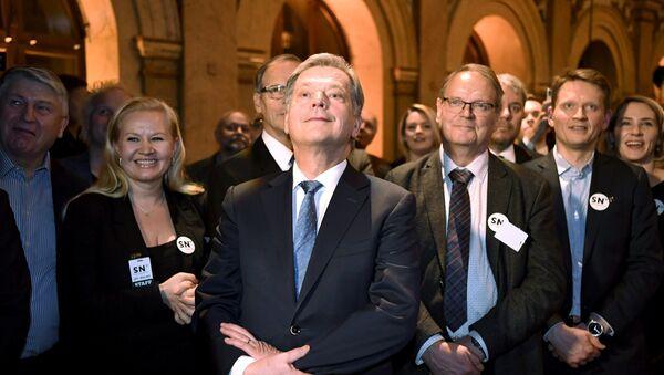 Sauli Niinisto, presidente de Finlandia - Sputnik Mundo