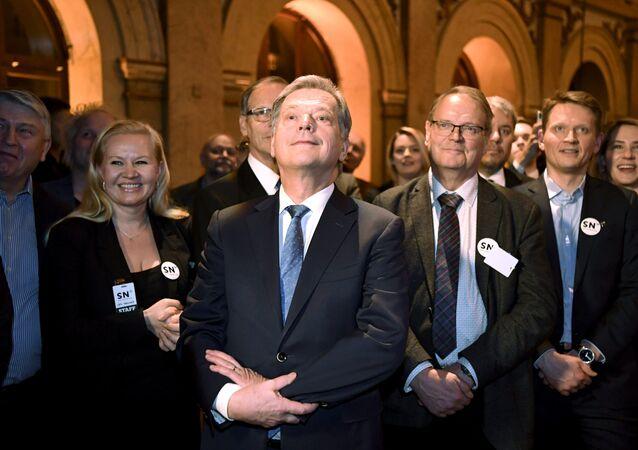 Sauli Niinisto, presidente de Finlandia