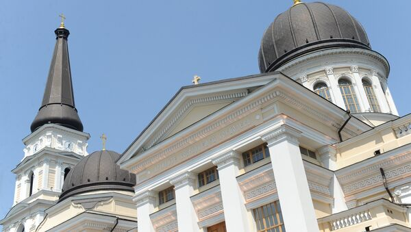 Una iglesia ortodoxa (imagen referencial) - Sputnik Mundo