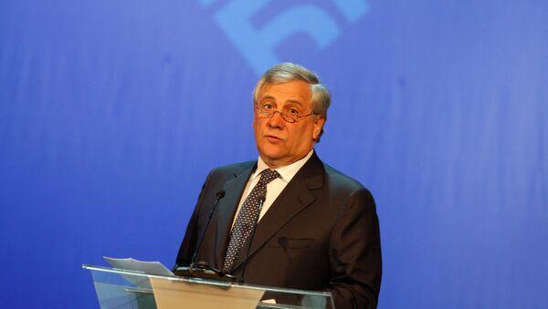 Antonio Tajani, presidente del Parlamento europeo - Sputnik Mundo