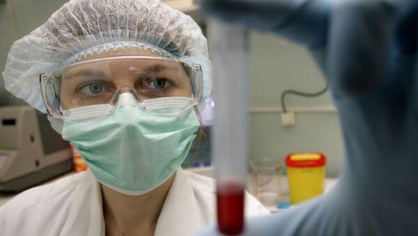 Un laboratorio ruso especializado en combatir la SIDA (archivo) - Sputnik Mundo