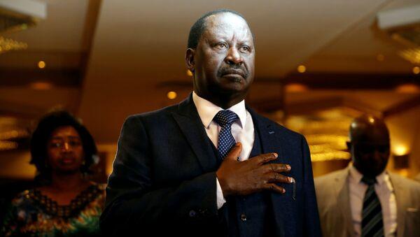 Raila Odinga, el líder opositor del partido NASA (National Super Alliance) - Sputnik Mundo