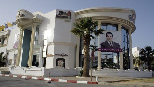La imagen de Zine Abidine Ben Hamda Ben Ali, expresidente de Túnez - Sputnik Mundo