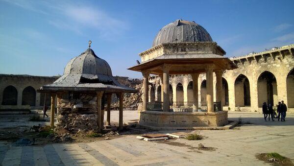 La Gran Mezquita de Alepo (archivo) - Sputnik Mundo