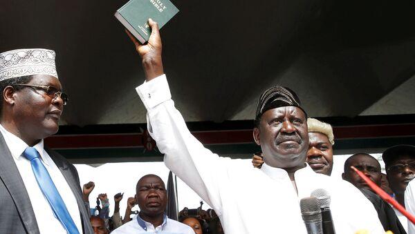 El ex primer ministro de Kenia, Raila Odinga - Sputnik Mundo