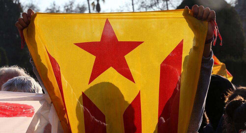 Estelada, bandera independentista catalana