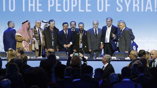 El Congreso del Diálogo Sirio en Sochi - Sputnik Mundo