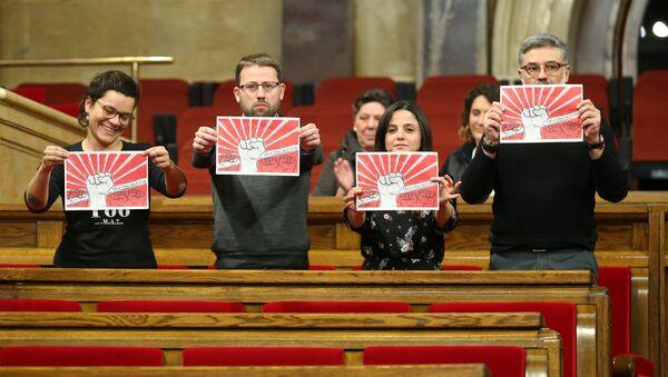Diputados de la Candidatura d'Unitat Popular (CUP) - Sputnik Mundo