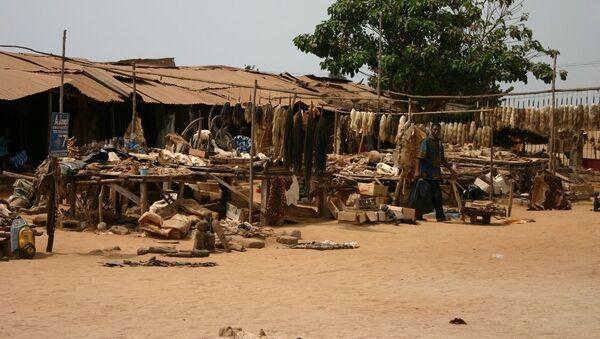 Рынок Акодессева в Того - Sputnik Mundo
