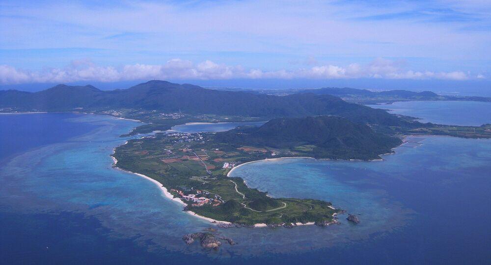 Una isla en el mar de China Oriental