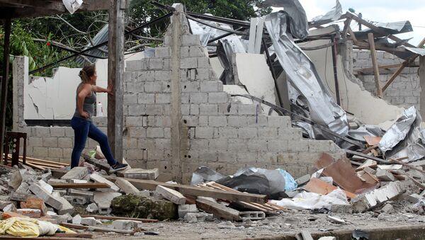 Atentado en San Lorenzo, Ecuador (archivo) - Sputnik Mundo