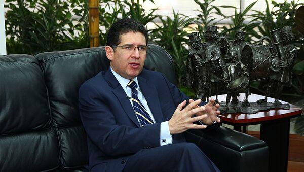 Diego García, procurador ecuatoriano - Sputnik Mundo