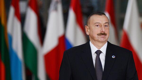 Ilham Aliyev, presidente de Azerbaiyán - Sputnik Mundo