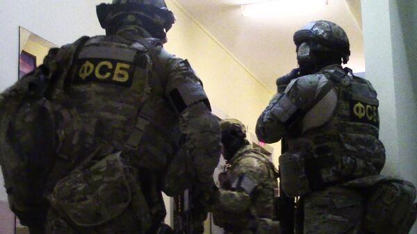 Los agentes del Servicio Federal de Seguridad (FSB) - Sputnik Mundo